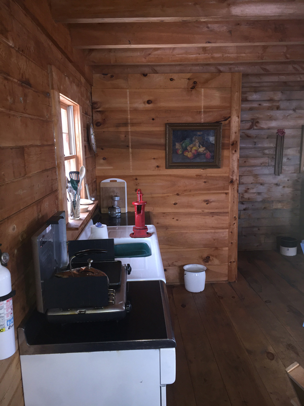 The Log Cabin Interior